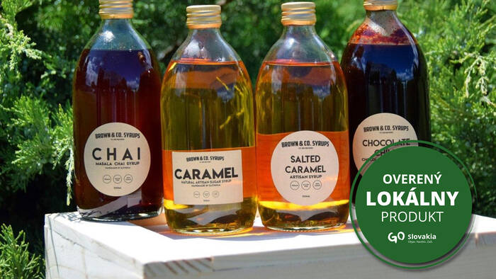 BROWN & CO produces exclusive syrups under the Tatras-1