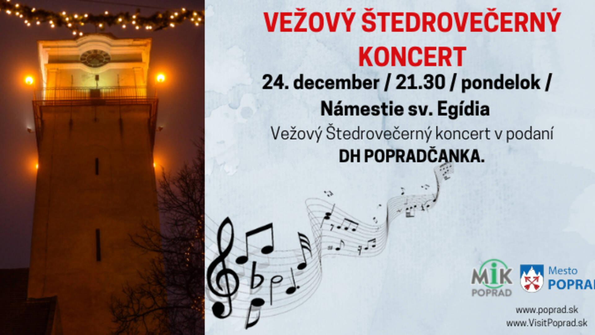 b88b805c8 Vežový štedrovečerný koncert - Poprad | Podujatia | GoSlovakia
