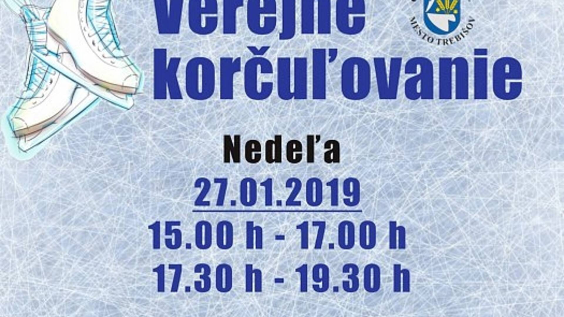 29eeca603 Korčuľovanie pre širokú verejnosť - Trebišov | Podujatia | GoSlovakia