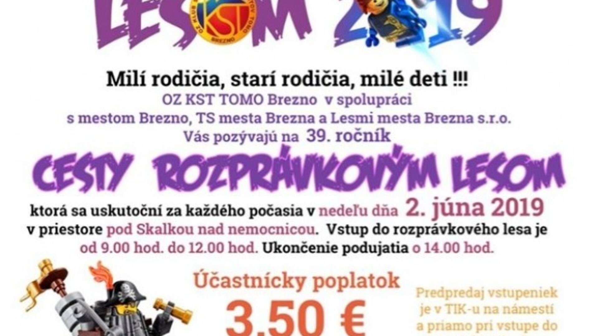 02ed4db00 Cesta rozprávkovým lesom 2019 - Brezno | Podujatia | GoSlovakia
