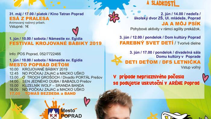 bbedaf854 Mesto Poprad Deťom 2019 - Poprad | Podujatia | GoSlovakia